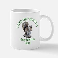 Squirrel Feeder Small Small Mug