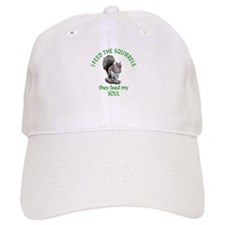 Squirrel Feeder Baseball Cap