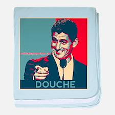 "Paul Ryan - ""Douche"" baby blanket"