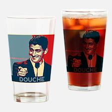 "Paul Ryan - ""Douche"" Drinking Glass"