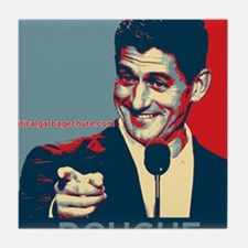 "Paul Ryan - ""Douche"" Tile Coaster"