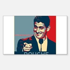 "Paul Ryan - ""Douche"" Decal"