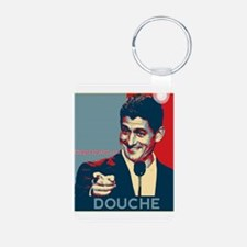 "Paul Ryan - ""Douche"" Aluminum Photo Keychain"