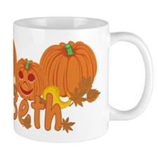 Halloween Pumpkin Beth Mug