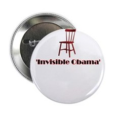 "Empty Chair Meme invisible Obama 2.25"" Button"