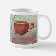 Batik Red Coffee Cup Mug