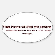 Single Parents Decal