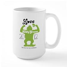 Love them Leafy Greens Large Mug