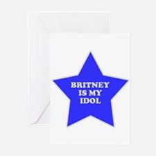 Britney Is My Idol Greeting Cards (Pk of 10)