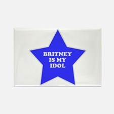 Britney Is My Idol Rectangle Magnet
