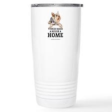 Home with Yorkies Travel Mug