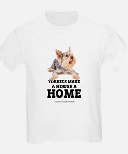 Home with Yorkies T-Shirt