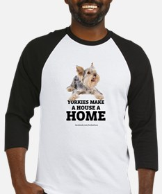 Home with Yorkies Baseball Jersey