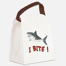 Shark - I Bite Canvas Lunch Bag