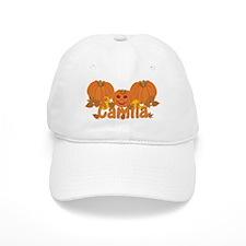 Halloween Pumpkin Camila Baseball Cap