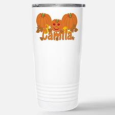 Halloween Pumpkin Camila Travel Mug