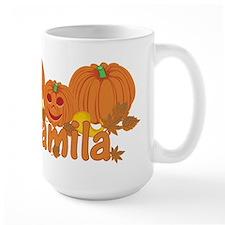 Halloween Pumpkin Camila Mug