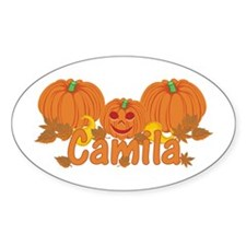 Halloween Pumpkin Camila Decal