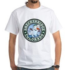Breckenridge Snowman Circle Shirt