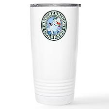 Breckenridge Snowman Circle Travel Mug