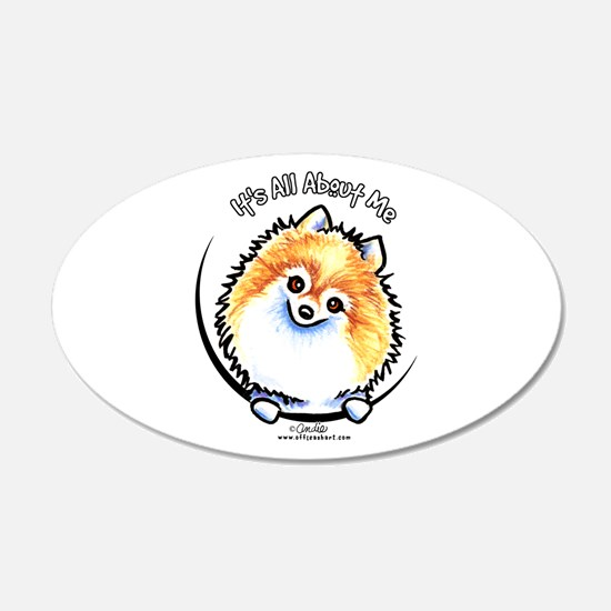 Pomeranian IAAM Wall Sticker