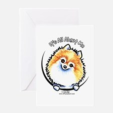 Pomeranian IAAM Greeting Card
