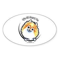 Pomeranian IAAM Decal