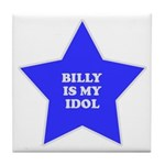 Billy Is My Idol Tile Coaster