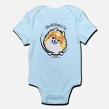 Pomeranian IAAM Infant Bodysuit
