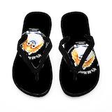 Pomeranian Flip Flops