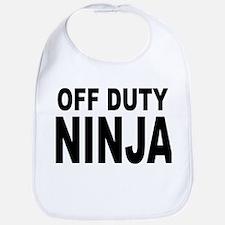 Off Duty Ninja Bib