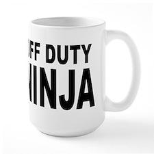 Off Duty Ninja Mug