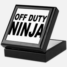 Off Duty Ninja Keepsake Box