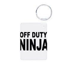 Off Duty Ninja Keychains