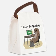 Cute Solitaire Canvas Lunch Bag
