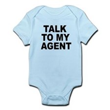 Talk To My Agent Infant Bodysuit