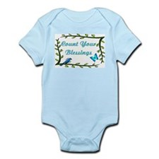 Count your blessings Infant Bodysuit