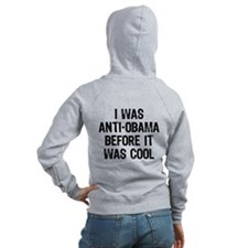 I was Anti-Obama Zip Hoodie