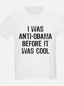 I was Anti-Obama T-Shirt