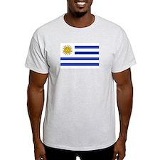 Cute Uruguay flag T-Shirt