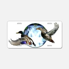 Waterfowl Aluminum License Plate
