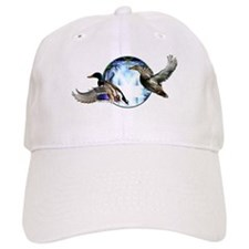 Mallards in flight Baseball Cap