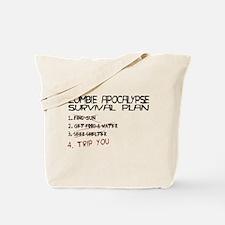 Zombie Survival Tote Bag