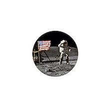 Man On The Moon Mini Button