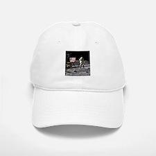 Man On The Moon Baseball Baseball Cap