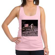 Man On The Moon Racerback Tank Top