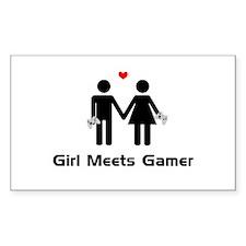 Girl Meets Gamer Decal