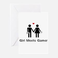 Girl Meets Gamer Greeting Cards (Pk of 20)