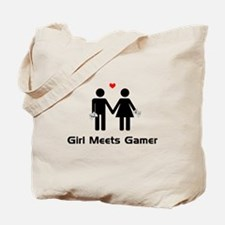 Girl Meets Gamer Tote Bag