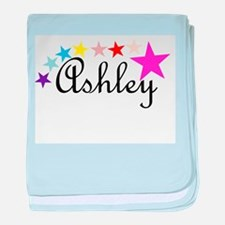 Named Shirts - Ashley baby blanket